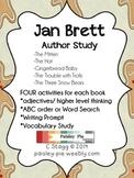 LITERACY: Jan Brett Author Study- 5 days of activities