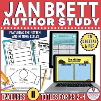 Jan Brett Author Study with 11 Titles