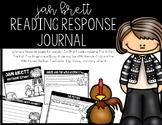 Jan Brett Author Study Reading Response Journal for K-2