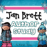 Jan Brett Author Study for Kindergarten & 1st grade