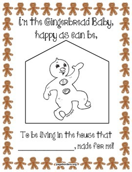 Jan Brett Gingerbread Baby Poetry