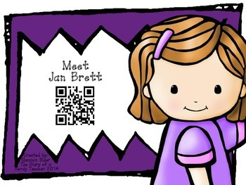 Jan Brett QR Readers for Listen to Reading
