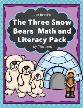 Jan Brett's The Three Snow Bears Math and Literacy (NEW)