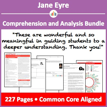 Jane Eyre – Comprehension and Analysis Bundle