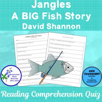 Jangles A BIG Fish Story  Bluebonnet Nominee Reading Compr