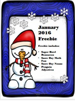 January 2016 Freebie