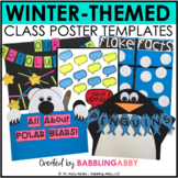 January Anchor Charts and Class Posters