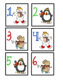 January Calendar Cards - Free