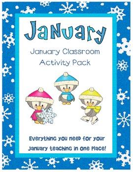 January Classroom Activity Pack