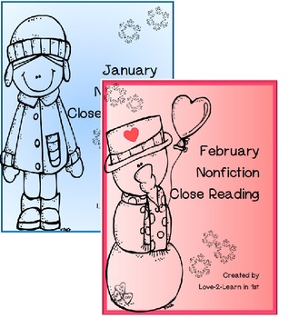 January Close Reading Bundle