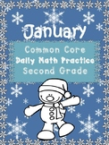 January Common Core Math Practice Second Grade