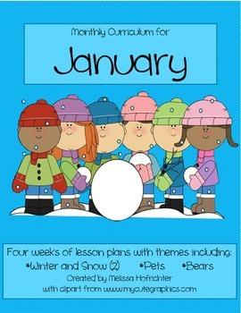 January Curriculum