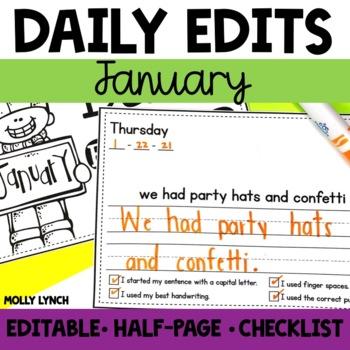January Daily Edits