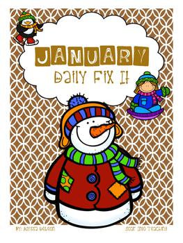 January - Daily Fix It