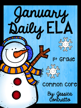 January ELA Daily Practice