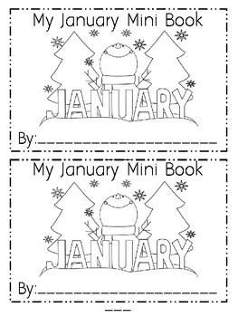 January Emergent Reader