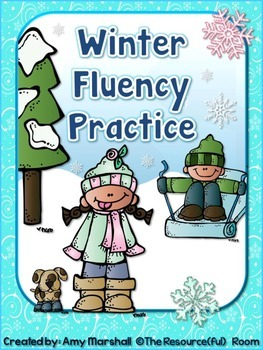 Winter Fluency Practice Pack