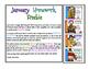 January Homework for Early Readers Sample Freebie