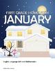 January Homework or School Activities-Kindergarten & First