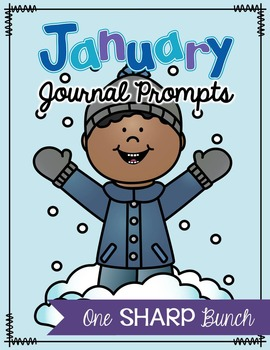 January Journal Prompts - No Prep Writing Center
