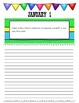 January Journal Prompts Printable Notebook Common Core W.1