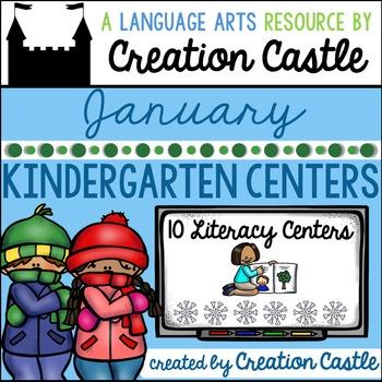 January Kindergarten Centers - Literacy