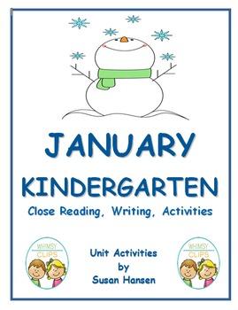 Kindergarten January Activities