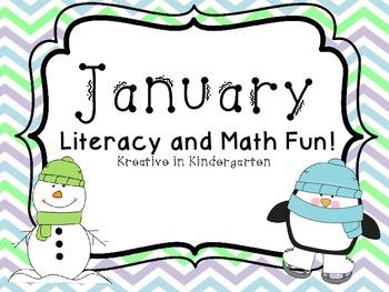 January- Literacy and Math Fun!