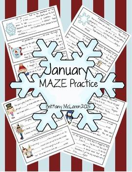 January Cloze Practice
