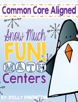 January Math Centers (First Grade)