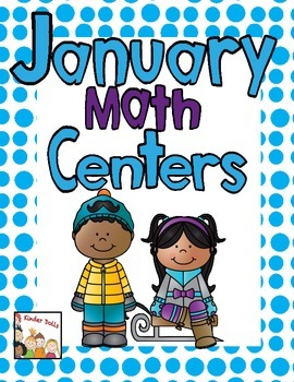 January Math Centers -Kindergarten
