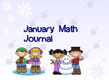 January Math Journal SMART notebook