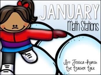January Math Stations