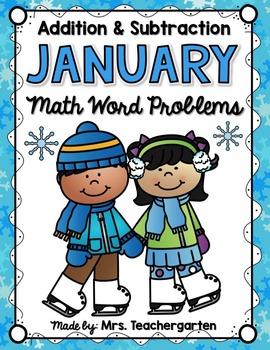 January Math Word Problems