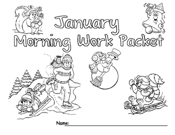 January Morning Work Packet