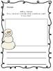 January No-Prep Printable Writing Prompts (Kindergarten!)