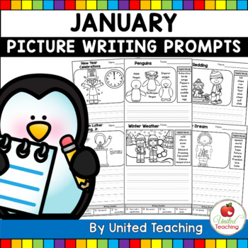 January Picture Prompts for Writing