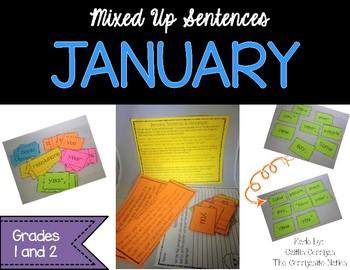January Mixed Up Sentences