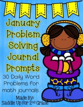 January Problem Solving Journal Prompts