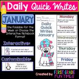 Writing January Quick Writes