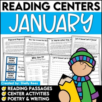 Reading Comprehension Passages - January Reading Unit