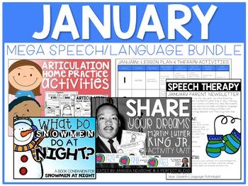 January: Speech/Language Bundle