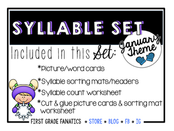 January Syllable Set