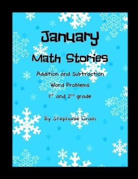 January Themed Addition and Subtraction Word Problems