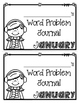 January Word Problems Journal Booklet