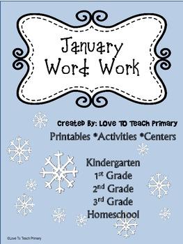 January Spelling