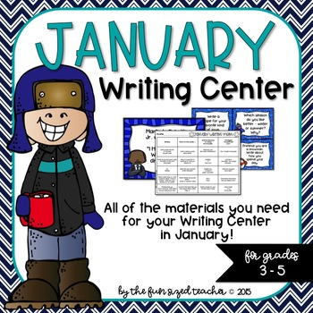 January Writing Center - Print and Go!