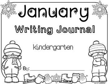 January Writing Journal Cover