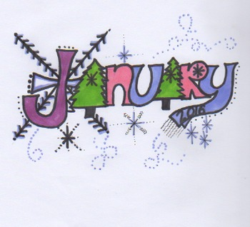 January clip art