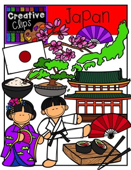 Japan {Creative Clips Digital Clipart}